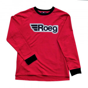 Roeg Ricky D-Track Jersey Sweatshirt - Red / White