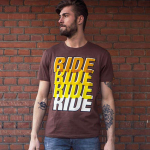 Roeg Ride Four T Shirt - Brown