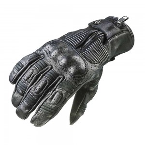Garibaldi Smoke Vintage Gloves - Black