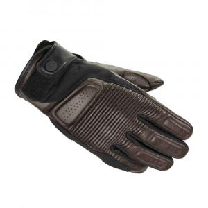 Spidi Clubber Leather Gloves - Brown