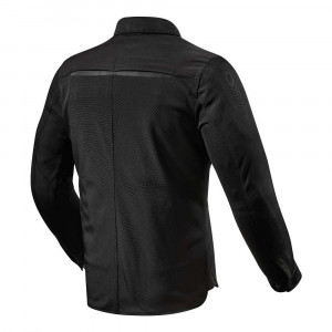 REV'IT Tracer Air Overshirt - Black