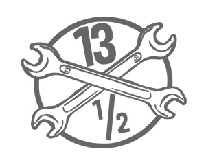 13 And A Half Magazine Brand Logo