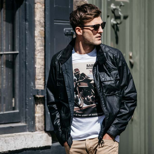 Barbour x Norton Driver