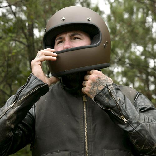 Open Face Motorcycle Helmets At The Cafe Racer Free Uk Delivery