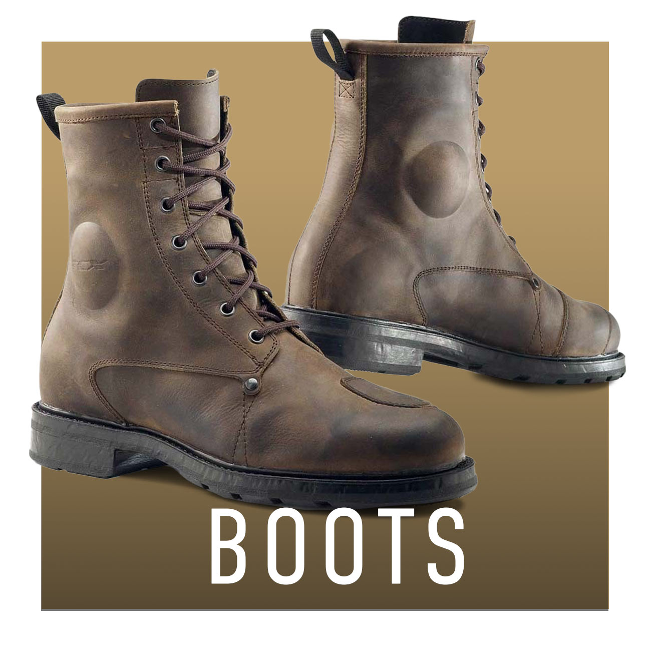 casual motorcycle boots for cafe racers