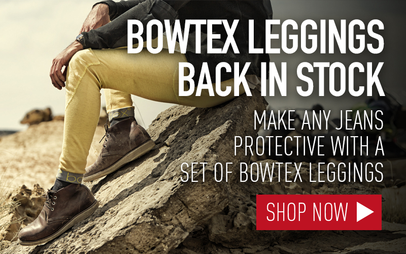 BOWTEX KEVLAR MOTORCYCLE LEGGINGS