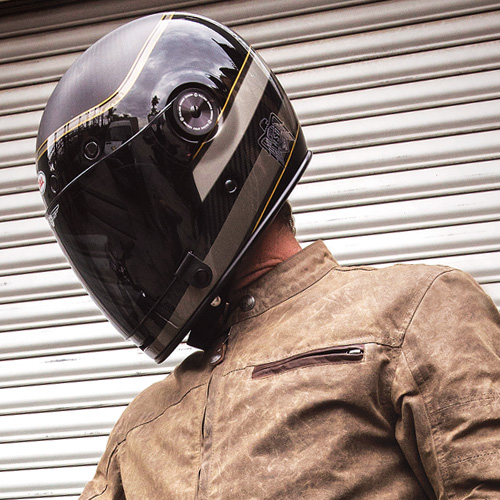 motorcycle helmets at the cafe racer | free uk delivery
