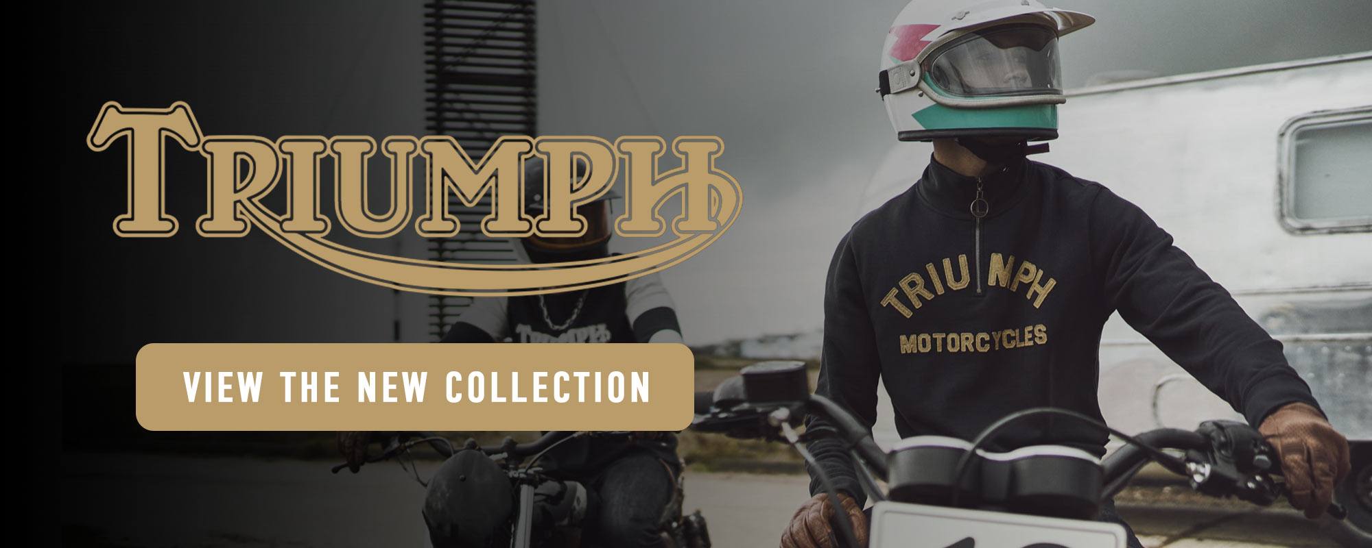 new triumph motorcycle clothing collection