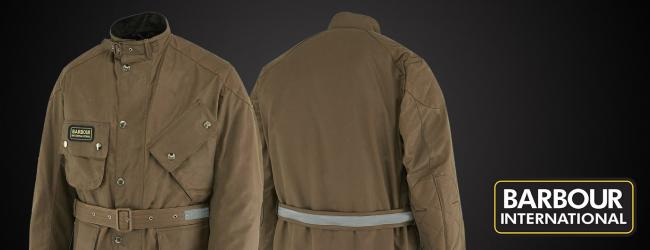 New Barbour Jackets - Now With Armour
