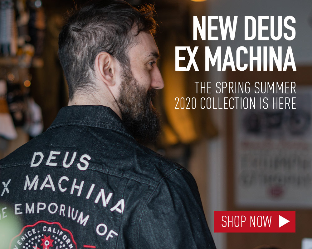 New deus ex machina motorcycle clothing collection