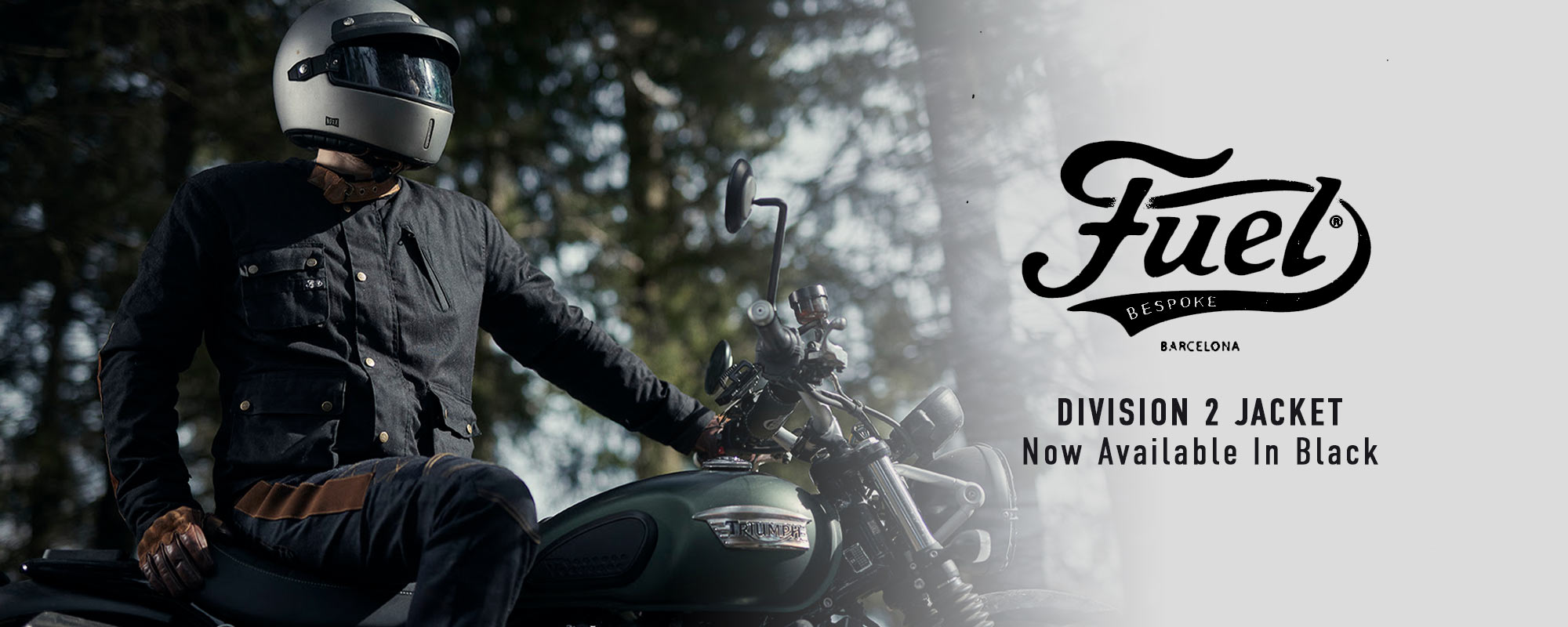 New Fuel Motorcycles Division 2 Jacket Black