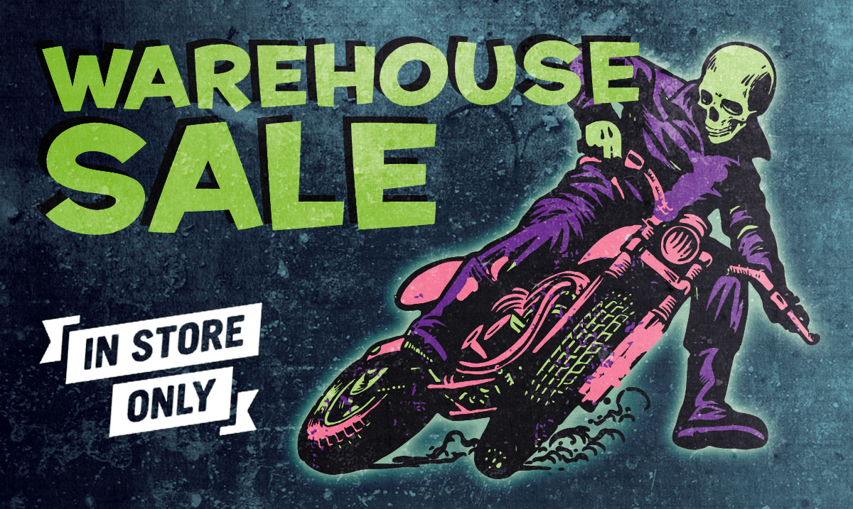 Warhouse Sale Banner