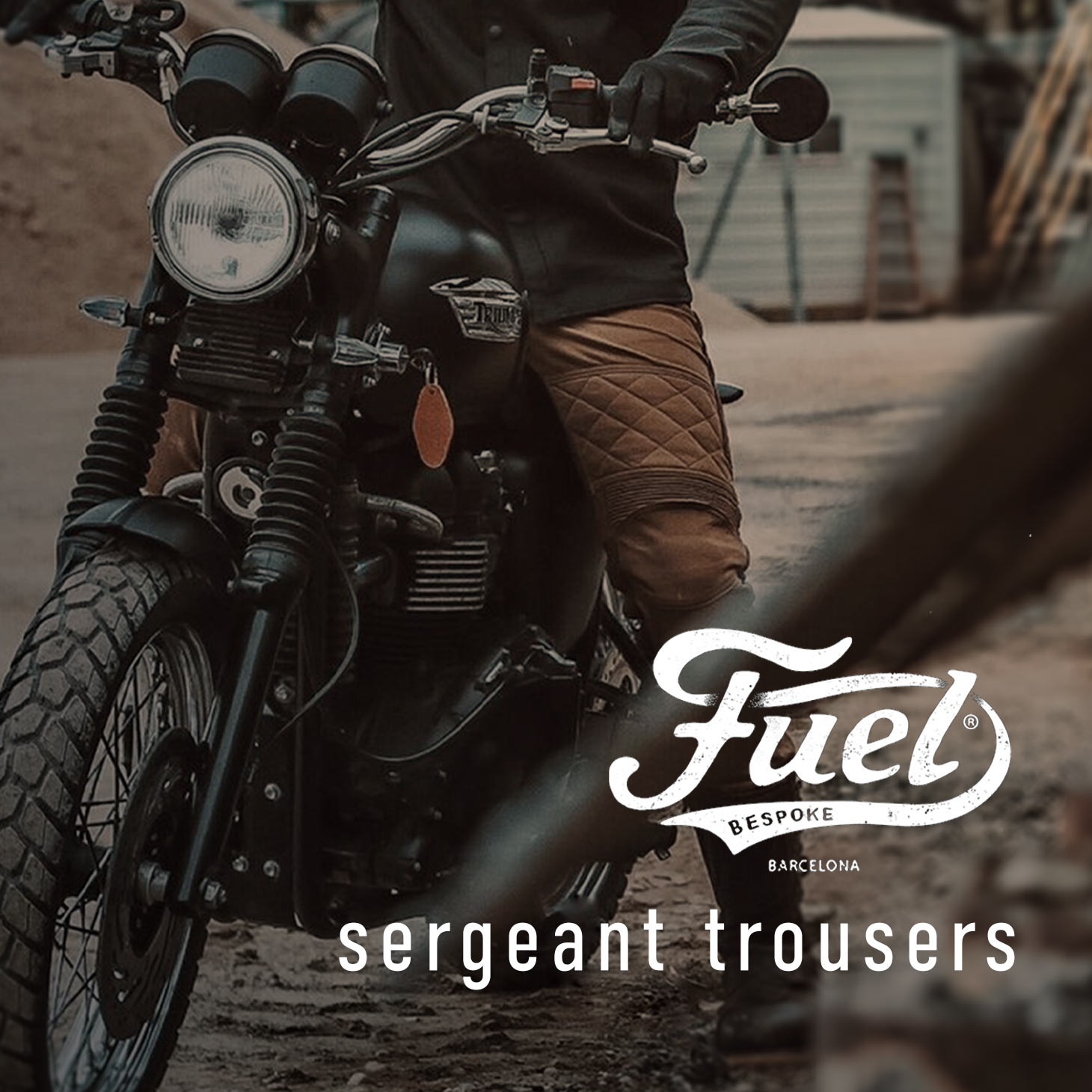 Fuel Motorcycles Sergeant Trousers