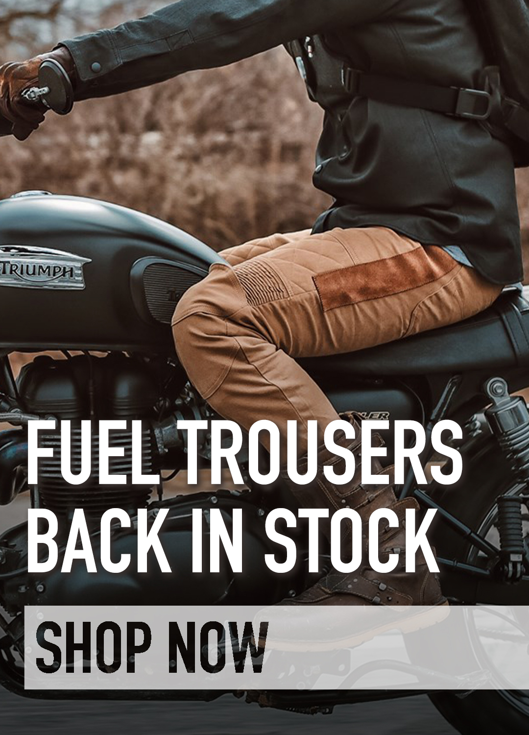 Fuel Sergeant trousers protective motorcycle jeans