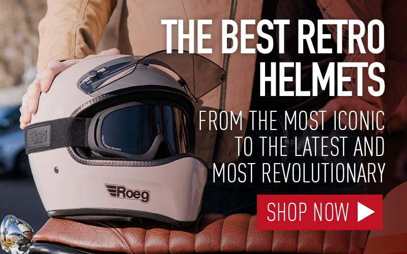 THE BEST RETRO MOTORCYCLE HELMETS 2020
