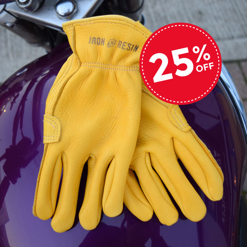 Iron and Resin Cafe Gloves Driver