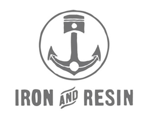 Iron and Resin Brand Logo