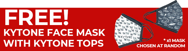 Free Kytone Face Mask with Tops