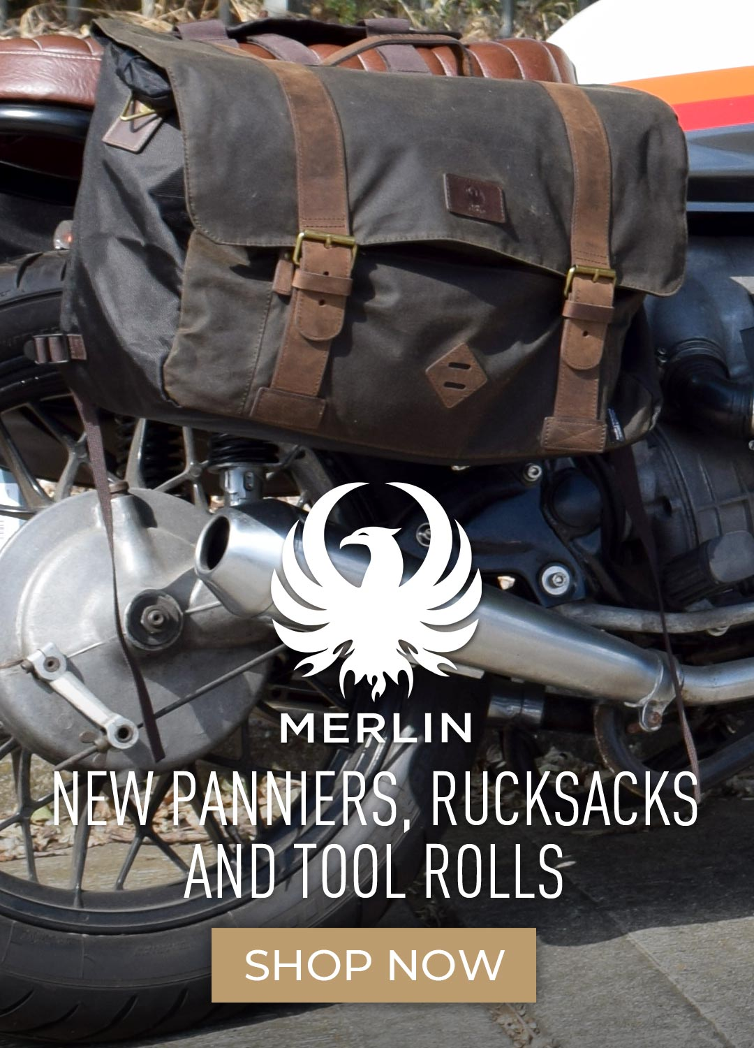 New Merlin Pannier Bags and Backpacks