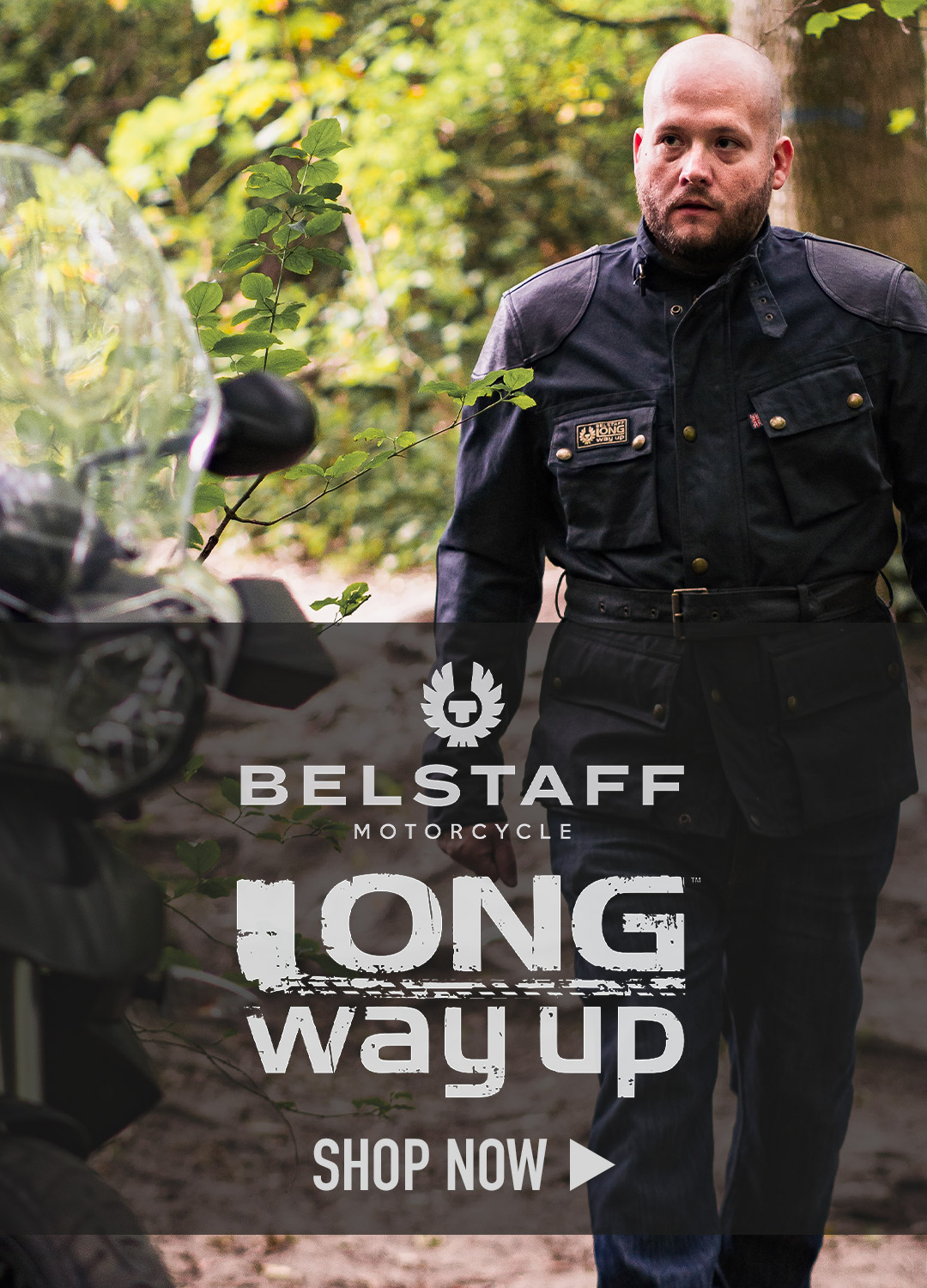 Belstaff Long Way Up Motorcycle Gear Collection