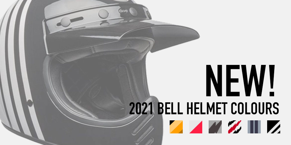 new bell motorcycle helmet colours for 2021