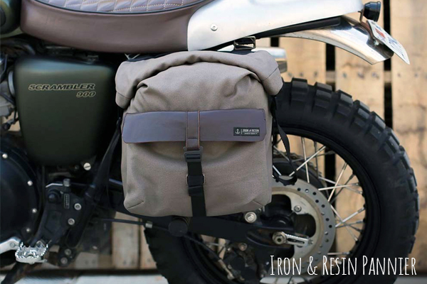 Iron And Resin Pannier