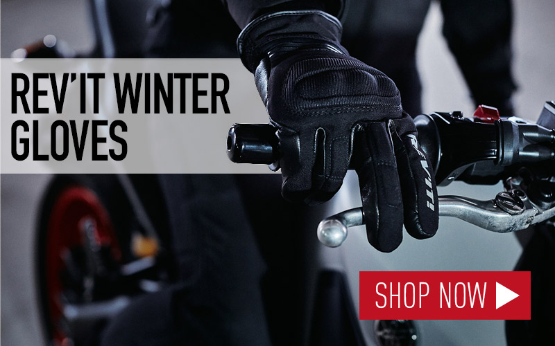 Rev'It winter motorcycle riding gloves