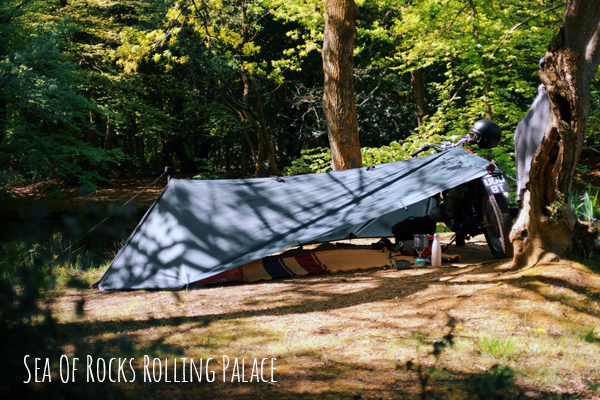 Sea Of Rocks Rolling Palace Tent