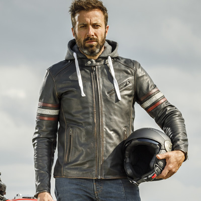 Richa Toulon 2 Leather Jackets Driver