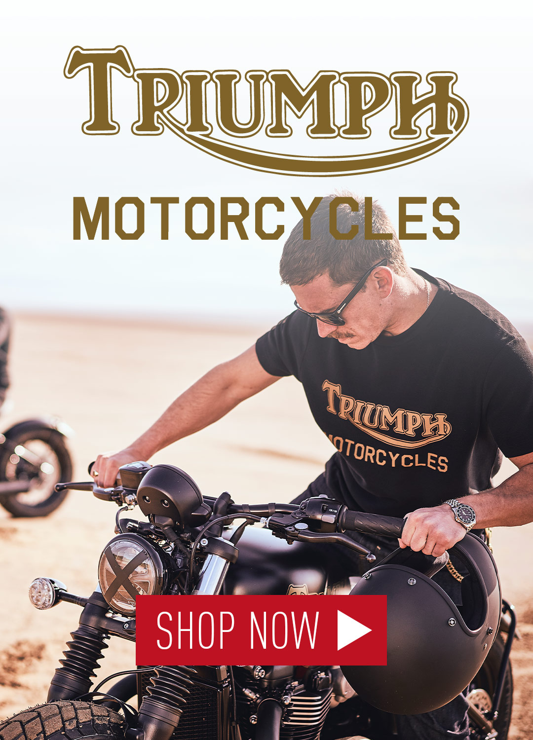 New Triumph Motorcycles clothing collection