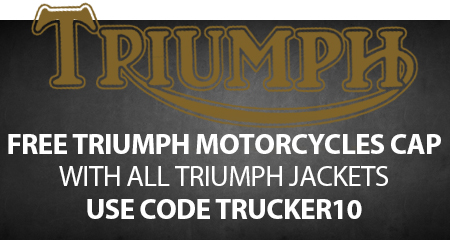 Free Triumph Cap with Triumph Jackets