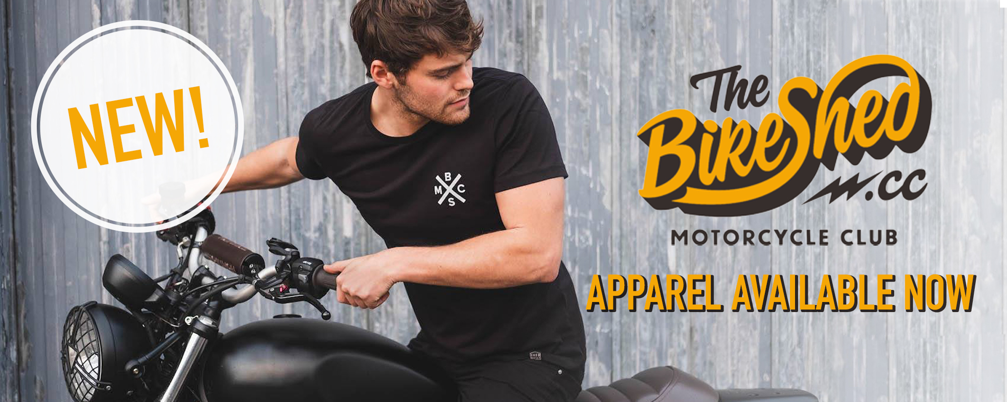 BIKE SHED CLOTHING BIKE SHED MOTORCYCLE CLUB T SHIRTS