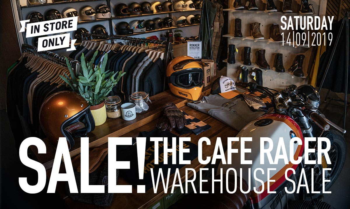 The cafe racer end of summer sale