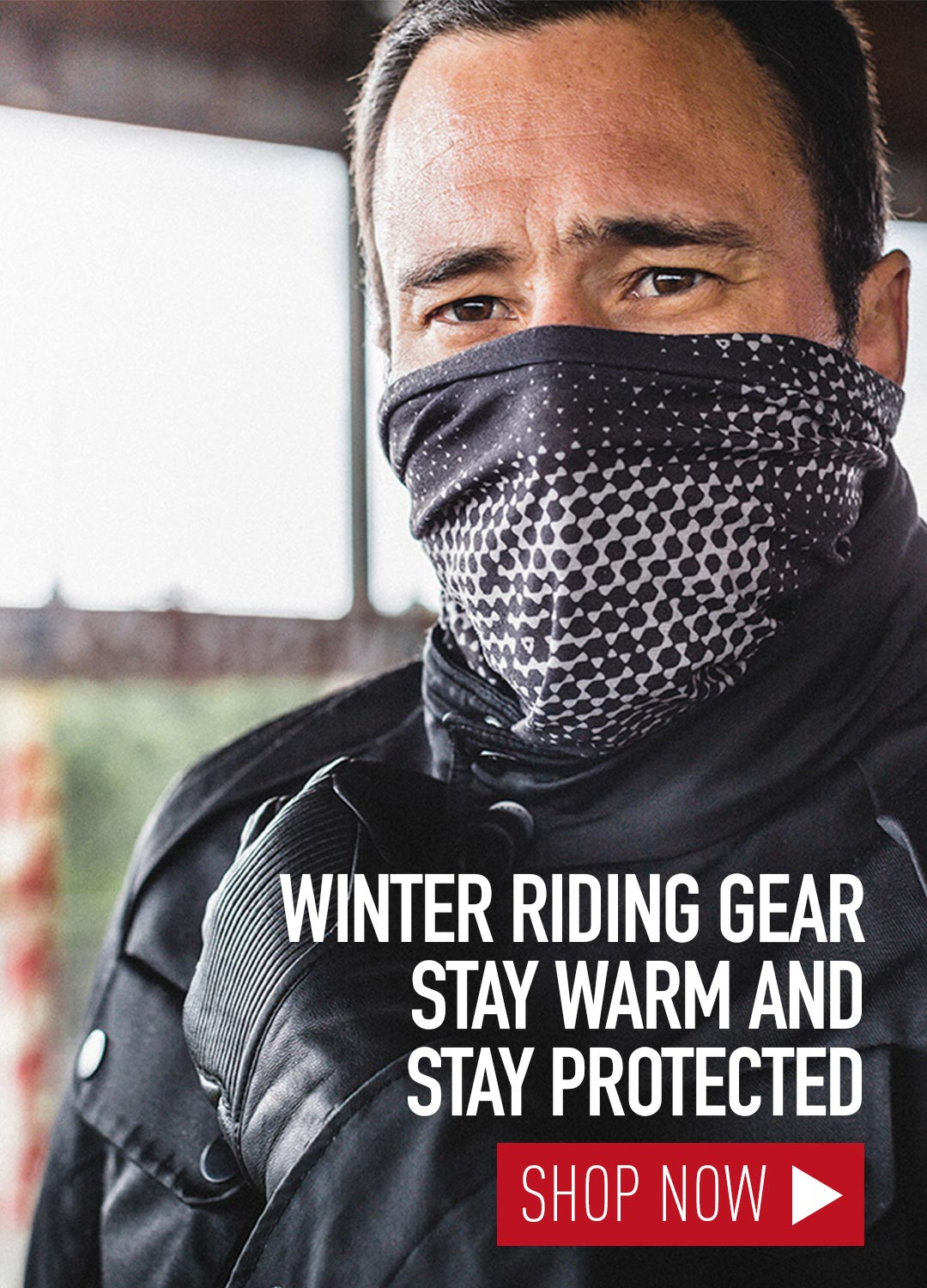 Winter Motorcycle Gear Driver